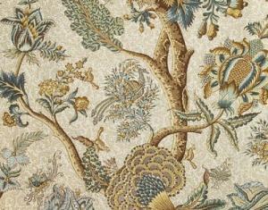 Buy Pierre Frey Le Grand Corail Toile Multicolore Fabric