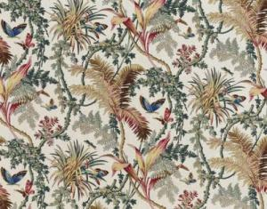 BRAQUENIE PAPILLONS EXOTIQUE FABRIC