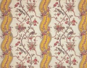 Buy Braquenie Mozart Rubans Fabric Alexander Interiors