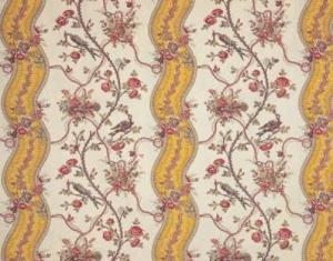 Buy Braquenie Mozart Rubans Fabric Alexander Interiors