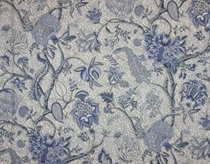 Buy braquenie le grand corail camaieux toile de jouy fabric alexander interio - Rideaux toile de jouy ...