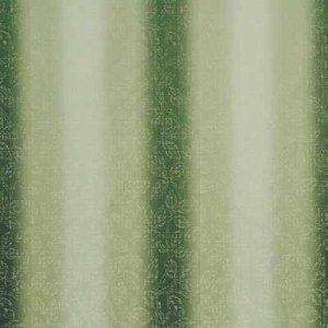 GP & J BAKER STITCHED OMBRE LEAVES FABRIC