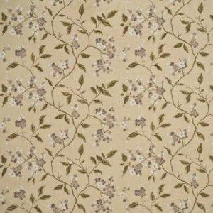 GP & J BAKER APPLE BLOSSOM SILK FABRIC