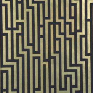GP & J BAKER FRETWORK FOIL WALLPAPER