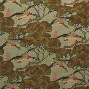 MULBERRY FLYING DUCKS  FABRIC