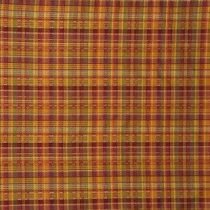 MULBERRY MARDI GRAS PLAID FABRIC