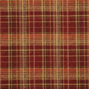 MULBERRY ALLEGRO PLAID FABRIC