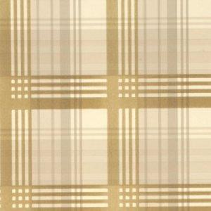 MULBERRY MODERN TARTAN FLOCK WALLPAPER