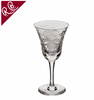 ROYAL BRIERLEY FUCHSIA SMALL WINE GLASS