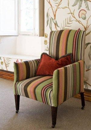 Lewis & Wood Valley Stripe Fabric