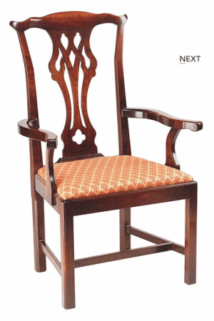 MANSION CHIPPENDALE CHAIR