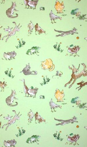 OSBORNE & LITTLE QUENTIN''S MENAGERIE WALLPAPER
