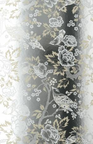 Thibaut Wildflora Songbirds Wallpaper Alexander Interiors