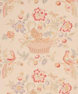 Bennison Bird And Basket Fabric