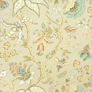 Thibaut Tea House Chinoiserie Floral Fabric Alexander