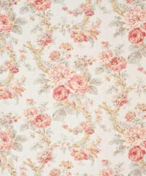 Bennison Damask Rose Fabric