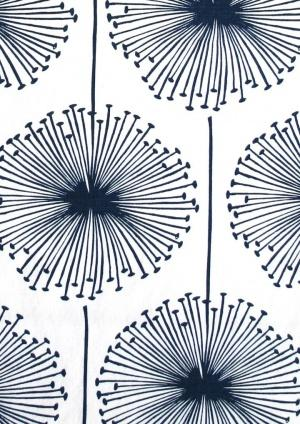 Borderline Dandelion Puff Fabric