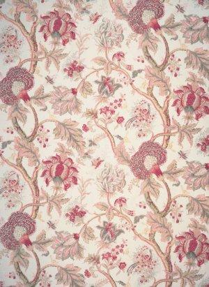 Bennison Dragon Flower Fabric