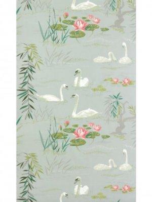 Buy Nina Campbell Sylvana Swan Lake Fabric Online