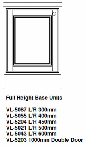 Full height kitchen base unit alexander interiors designer for Full height kitchen units
