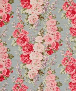 Bennison Hollyhock Fabric