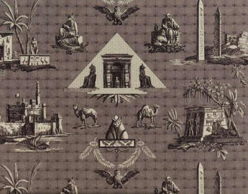 BUY BRAQUENIE MONUMENTS D''EGYPTE FABRIC Alexander