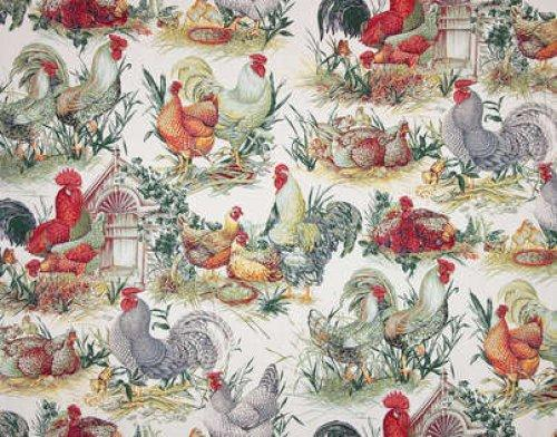 Buy pierre frey la basse cour fabric alexander interiors for Pierre frey fabric