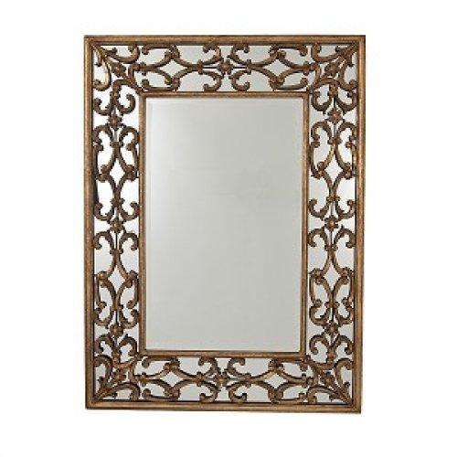 Rectangular Mirror Metal Frame Alexander Interiors