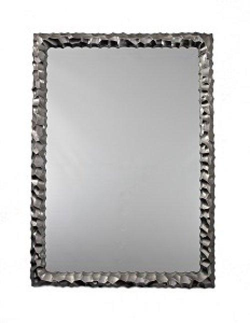 Rectangle Silver Framed Mirror Alexander Interiors