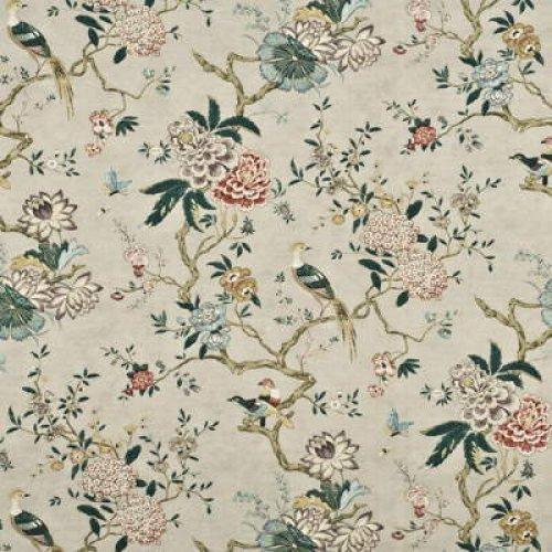Gp Amp J Baker Oriental Bird Fabric Alexander Interiors Designer Fabric Wallpaper And Home Decor