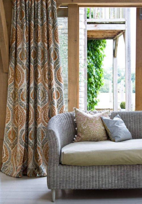 Buy Lewis Wood Benaki Fabric Online Alexander Interiors Designer Fabric Wallpaper And Home