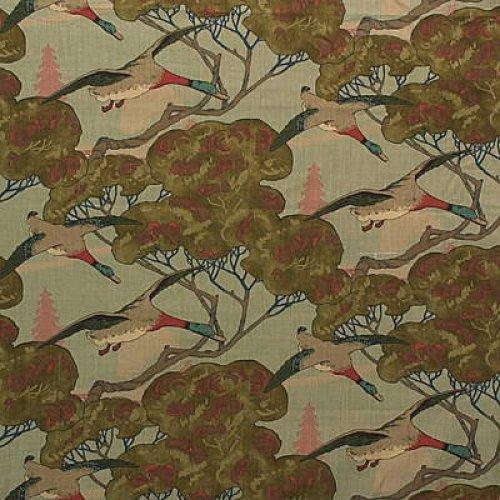 mulberry flying ducks wallpaper-#10