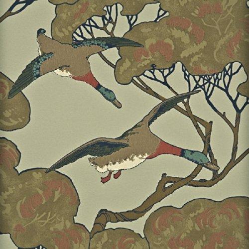 mulberry flying ducks wallpaper -#main