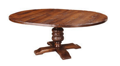 Marlowe Extending Round Dining Table Alexander Interiors