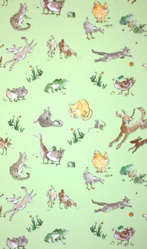 Osborne & Little Quentin\'\'s Menagerie Wallpaper Alexander Interiors ...