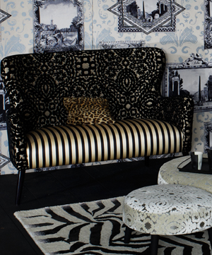 Christian lacroix paseo doble fabric alexander interiors designer fabric wal - Tissu christian lacroix ...