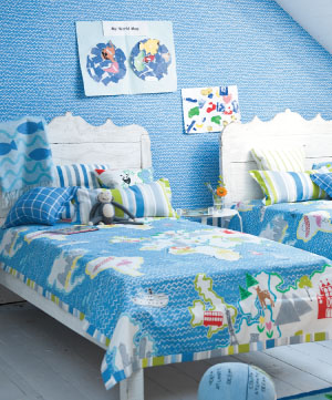 Designers guild kids around the world fabric alexander for Children of the world fabric