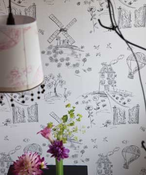 DESIGNERS GUILD MEADOWSWEET WALLPAPER
