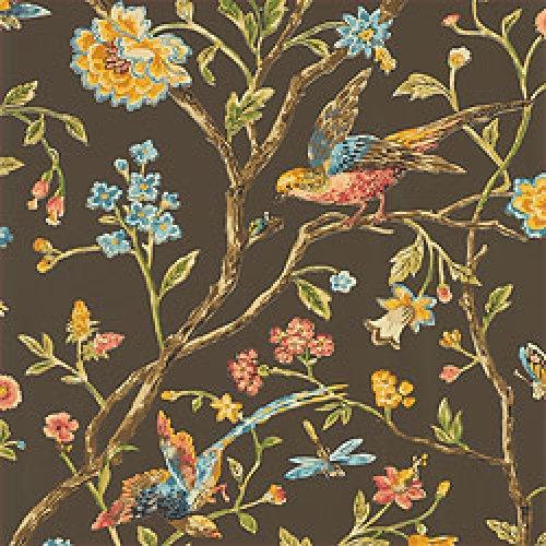 Thibaut Signature Prints Aviary Fabric Alexander Interiors