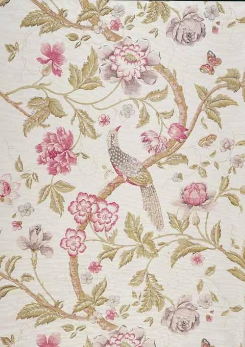 Buy Bennison Chinese Pheasant Fabric Online Alexander
