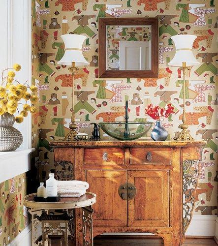 Thibaut Tea House Chinese Laundry Wallpaper Alexander