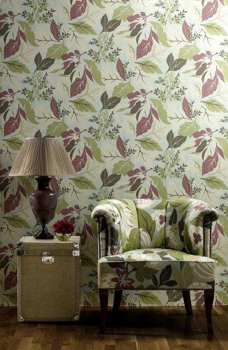 nina campbell perroquet chardon wallpaper