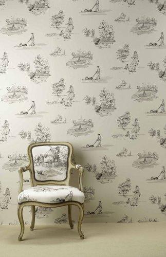nina campbell perroquet promenade wallpaper