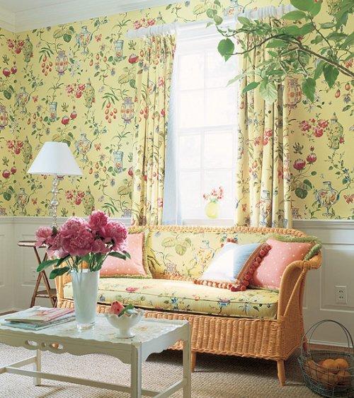 Thibaut Fabrics And Wallpapers: Thibaut Sweet Life Fishbowl Wallpaper Alexander Interiors