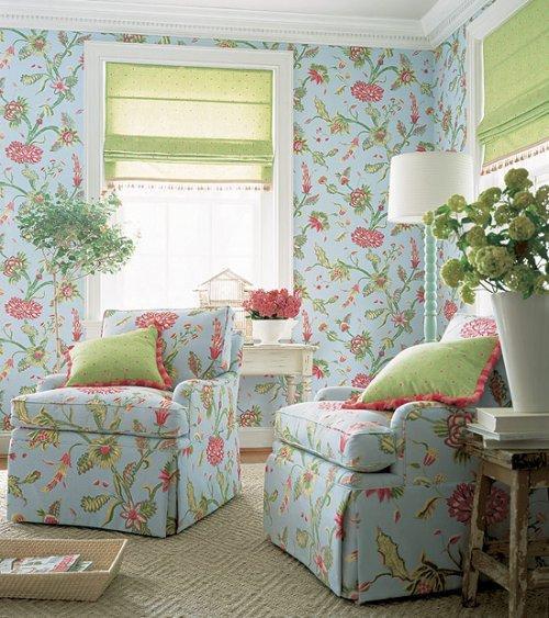 Thibaut Fabrics And Wallpapers: Thibaut Sweet Life Georgetown Wallpaper Alexander