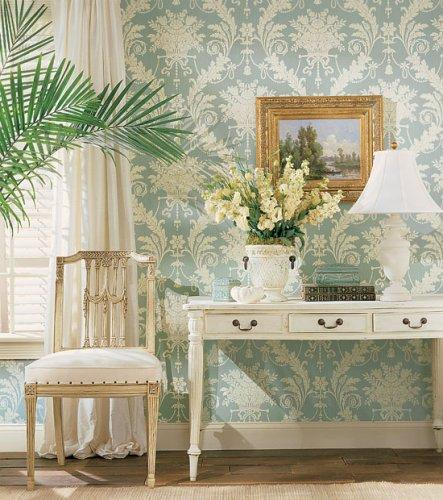 Thibaut historic homes vol vii historic damask wallpaper for A t design decoration co ltd