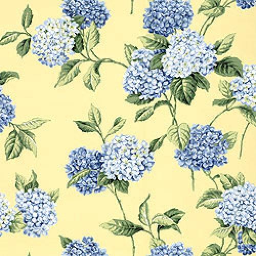 Thibaut Signature Prints Hydrangea Fabric Alexander