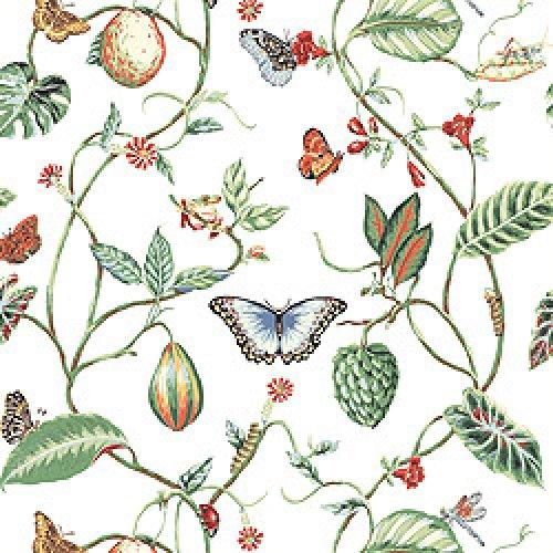 Thibaut Spring Lake Lillian Wallpaper Alexander Interiors