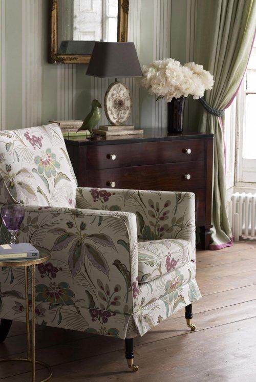 Buy Nina Campbell Montacute Fabric Online Alexander Interiors Designer Fabric Wallpaper And