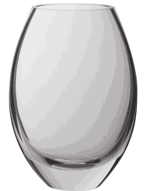 Buy Dartington Crystal Opus Medium Oval Vase Alexander Interiors